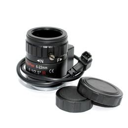 CCtv Cameras manual zoom online shopping - 5MP quot mm F1 IR Manual Varifocal DC Auto Iris CCTV Lens CS Mount for All Megapixel HD Analog IP Camera