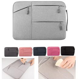 macbook sleeve waterproof 2019 - Liner bag Shockproof waterproof notebook Briefcase for Macbook ipad air pro 11.6 13.3 14 15.6 inch laptop bag protective