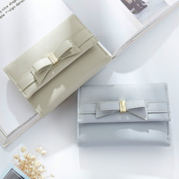 $enCountryForm.capitalKeyWord Canada - 2017 New lady short paragraph Japan Korea version fashion bow cute student mini wallet multi-card buckle women purse