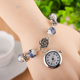 Discount geneva ceramic analog watch - Geneva Ms hot style Hot style jewelry wholesale watches MiaoYin national wind the watch Three color watch by hand Cerami