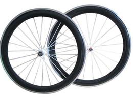 $enCountryForm.capitalKeyWord NZ - Free Shipping 60mm clincher carbon bike wheels with Alloy brake track with Novatec A271SB F372SB Hub 20.5 mm 23 mm 25 mm