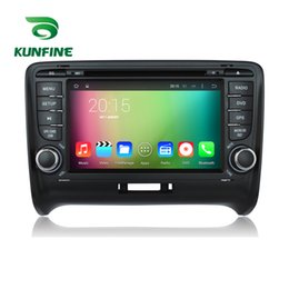 mk2 cars 2019 - Octa Core 1024*600 Android 6.0 Car DVD GPS Navigation Multimedia Player Car Stereo for Audi TT MK2 2006-2014 Radio with