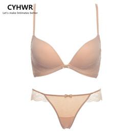 f9d77793e4 Matching Underwear Sets UK - Seamless Wire Free Health underwear women bra  set sexy push up