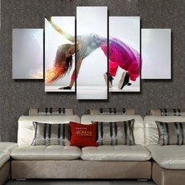 pictures gifts Australia - 5 Pcs Set beautiful Picture Canvas Print Painting Modern Canvas Wall Art Gift For Home Decoration #193