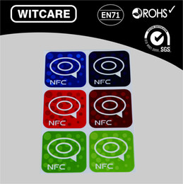 samsung lowest prices 2019 - Wholesale- NTAG 213 Waterproof NFC Tag Stickers RFID Adhesive Label for Samsung iPhone 6 plus With Low Price * 6pcs lot