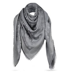VelVet silk scarfs online shopping - Top Quality Shiny Lurex RAINBOW SHAWL M72252 M70275 Shawls Wraps Scarves Pashmina cm With tag lable and Official receipt colors