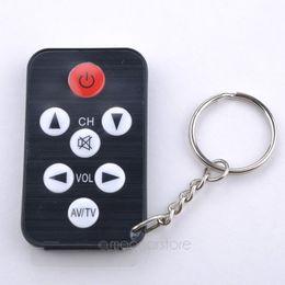 $enCountryForm.capitalKeyWord Canada - Wholesale-Hot sale1Pcs Key Ring Mini Universal Infrared IR TV Set Remote Control Keychain Key Ring