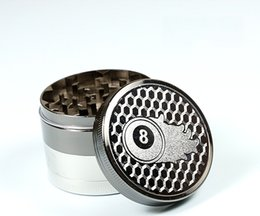 Discount vs alloys - Hot 52mm Grinders 4Parts Herb Crushers Metal Zinc Alloy Grinder With CNC Smok Cracker With Magnetic Top VS Sharpstone