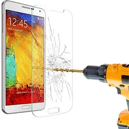 Samsung Note Glass Screen Canada - Explosion Proof 9H 0.3mm Screen Protector Tempered Glass for Samsung Galaxy Note 2 3 4 5 N7100 N9000 with Retail Package