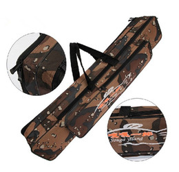 $enCountryForm.capitalKeyWord NZ - 80cm Fish Bag Foldable Pole Package Large Capacity Camouflage Double Layer Brand High Quality Rod Bag Fishing Accessories Tackle 25gd F1