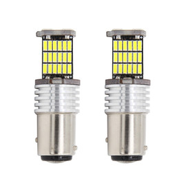 China car styling 18X 1157 BAy15D S25 3020 led 4014 45 SMD Led 1016 7528double contact High Auto Turn Brake stop Tail Parking Light cheap lada light suppliers