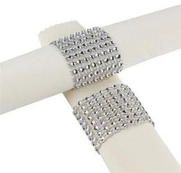 $enCountryForm.capitalKeyWord UK - European Style Plastic Rhinestone Wrap Napkin Ring Serviette Buckle Holder Hotel Wedding Supplies Party Chair Decoration
