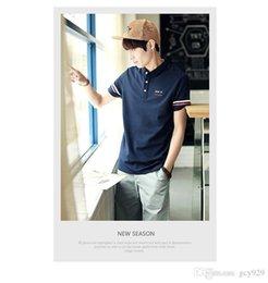 Venta al por mayor de Los hombres de Corea del verano nuevos hombres de manga corta camiseta de algodón ocasional de los hombres camiseta de impresión de montaje de hombres 121