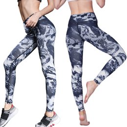 Mode De Sport Sexy Pas Cher-Mode Sportswear Femmes Yoga Pantalon Femelle Leggings D'entraînement Collants Fitness Leggings Yoga Sports Courir Gym Sexy Sport Pant Haut Élastique