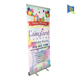 up display NZ - Super! High-quality Easy Change Banner Retractable Roll Up Display Banner Stand with Graphic for Trade Show Advertising