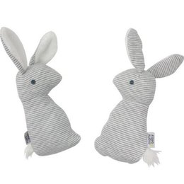 Baby Rattles Australia - Wholesale- Baby Cute Soft Animal Plush Hand Grap Toys Rattle Infant Baby Stripes Bunny Educational Gift Development Toys