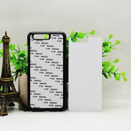 Chinese  2D Blank Sublimation PC Mobile Phone Cover Case With Metal Sheet For Huawei Honor 9 50pcs lot By DHL Free Shipping manufacturers