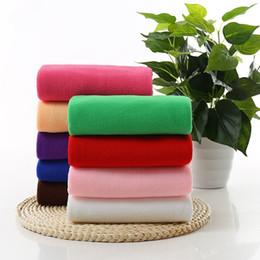 Wholesale car Wash drying toWels online shopping - Car Wash Towel Hairdressing Dry Hair Washcloth Superfine Fibre Cleaning Cloths Window Glass Towels Washing Tools Home Household mj J