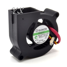 Discount sunon dc fan - free shipping high quality camera cooling fan for SUNON GB1205PKV1-8AY 5cm 50mm DC 12V blower turbo