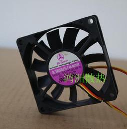Discount pin hard drive - BI-SONIC BS701512L-02 7015 12V 0.22A 3 pin tachometer version of the computer CPU cooling fan