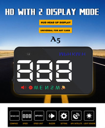 $enCountryForm.capitalKeyWord Canada - New arrival A5 3.5 inch GPS HUD Head up Display Vehicle alarm security stystem vs OBDII car windshield project driving
