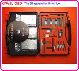 Tinfoil Pick Tools NZ - Hot 6th-Generation tinfoil tools ,door open tool tinfoil tool,lock open tool,lock pick tool,locksmith tool