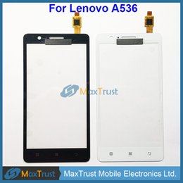 Touch screen replacemenT for lenovo online shopping - Top Quality quot For Lenovo A536 Touch Screen Digitizer Glass Touchscren Panel Sensor Replacement Black White Color