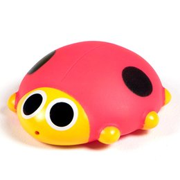 $enCountryForm.capitalKeyWord NZ - Wholesale- 1Pcs Set Big Size Red Beetles Cute Soft Rubber Float Squeeze Sound Baby Wash Bath Toys Play Animals Toys Kids Bath Toys