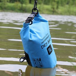 $enCountryForm.capitalKeyWord NZ - New Style Outdoor Waterproof Dry Bag Floating Swimming Boating Camping Travel Kit Drifting Waterproof storage Folding Bag 5L 10L 15L 20 25L