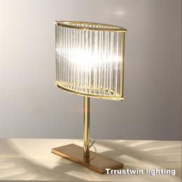 $enCountryForm.capitalKeyWord NZ - L320 H420 W110mm RH family hotel glass crystal desk light LED table lamp ghost modern luxury gold table light lamp golden