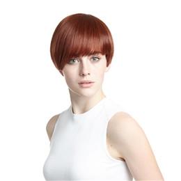 Discount hair 33 - kabell Straight hair straight hair Glueless Brazilian Human Hair 100% Full Lace Wig yaki straight full lace wig virgin w