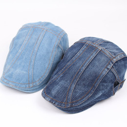 Flat Hats For Women Australia - Baseball Snapback Sports Summer Jeans Caps for men women Fashion Hip Hop adjustable flat Cap Outdoor Hats brand Sun Hat