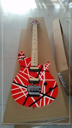 New Electric Guitar Brands Australia - Brand new arrival guitars kramer 5150 RED and white series ARI tremolo Electric guitar free shipping