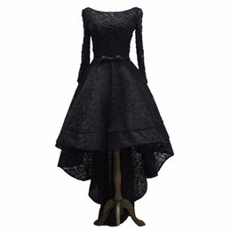 PePlum dresses online shopping - Luxury Evening Dress High Low Prom Dresses Long in Sexy Black Gown Formal Party Dresses robe de soiree vestido de festa
