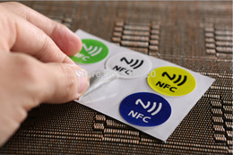 Nfc tags aNdroid online shopping - Ntag216 mhz Rfid Tag Card NFC Tags Stickers for the Android smart phone