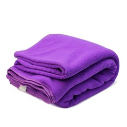 bamboo towelling UK - New Purple Microfiber Large Bath Towels Soft Absorbent Sport Bath Swimming Beach Quick Dry Microfiber Bath Towel 180*80cm