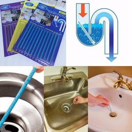 Sani Sticks Kitchen Toilet Drain Pipes Clear Pipeline Rod Stickers Keep  Your Drains Clear Cleaning Essential Tools 12pcs Set OOA2398