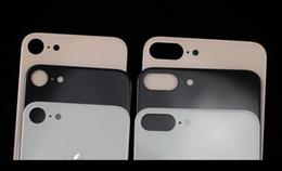 c95a7d6d735 Calidad original para iPhone X 8 8p más tapa trasera de batería Reemplazo  de la caja de la carcasa de vidrio trasera con adhesivo