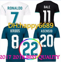 7a849ad3ea0 ... Kiko Casilla Jersey Number 13 Home Mens Replica Real Madrid Team 2017 18  Women Real Madrid champions Soccer Jersey Home Away 3rd Goalkeeper Soccer  ...