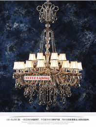 $enCountryForm.capitalKeyWord Canada - Antique Large black smoke crystal chandelier lighting for church led gray smoke chandelier living room hotel chandelier led pendant lights