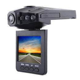Chinese  Hot selling 2.5'' Car Dash cam Car DVR recorder camera car black box H198 night version Video Recorder dash Camera 6IR LED manufacturers