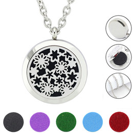 magnetic pendant necklaces NZ - Free with Chain as Gift! Wholesale Magnetic Locket Pendant Jewery 316L Stainless Steel Aromatherapy Perfume Locket Necklace