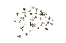 iphone replacement screws UK - for iPhone 4 4s 5 5s 5c 6 6s 6+ 6s+ plus Full Set Screws Replacement repair component DHL FREE