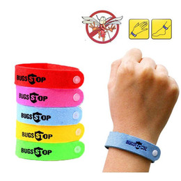 baby hand bands NZ - 2016 New Arrival ! Mosquito Repellent Band Bracelets Anti Mosquito Pure Natural Baby Wristband Hand Ring