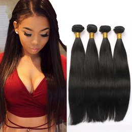 Straight hair weave hairstyles online straight brazilian hair brazilian virgin hair straight nature color wholesale brazilian hair 4 bundles straight hair human weaves brazilian straight hairstyle pmusecretfo Image collections