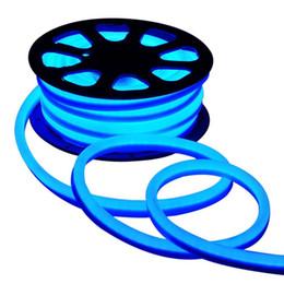 110 В 220 В LED Flex Neon Rope Light водонепроницаемый 80led/м Led Neon Tube гибкие полосы света крытый открытый освещение рождественские украшения
