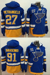 Discount hoodies st louis - 2017 Winter Classic Pullover Hoodie Sweatshirts St. Louis Blues 27 Alex Pietrangelo 91 Vladimir Tarasenko Jersey Men