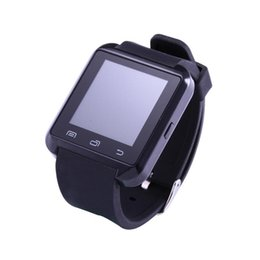 inch meters Canada - U8 Bluetooth Smart Wrist Watch Phone U Smartwatch For iphone Android IOS Smartwatches With Altitude Meter Function 1.5 inch LCD A+++ Quality