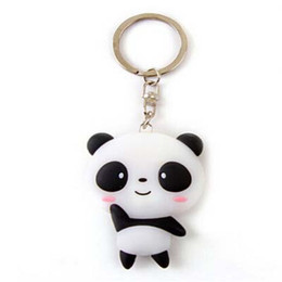 $enCountryForm.capitalKeyWord Canada - 1PCS Cute Panda Cartoon Keychain Pendant Key Ring Tourist Souvenirs Silicone Cute Prize Gifts Stationery Material Escolar