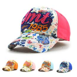 a2ecc60d2c796 Cap Boy Snapback Canada - Kids Baseball Hats Sweet Letter Snapback Caps for Boys  Girls Fashion